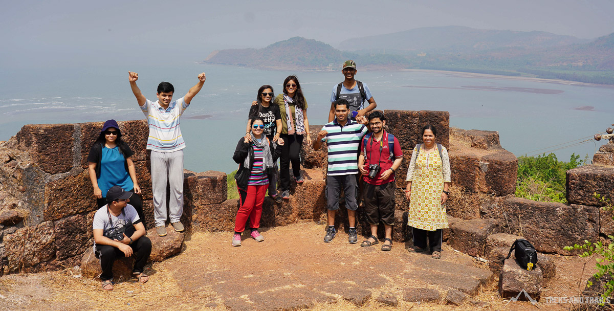 Bankot Fort | Treks and Trails India | Trekking and Camping
