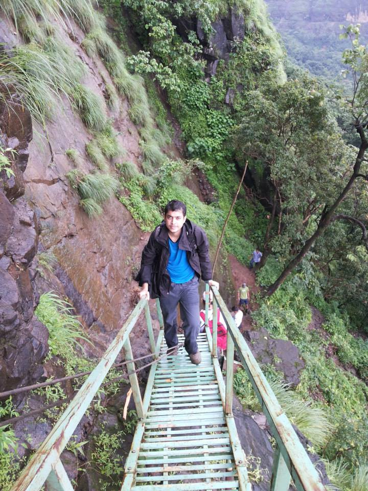 Bhimashankar-Ladder-Route