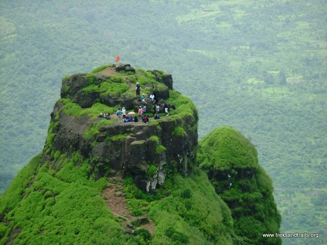 Overnight camping at Kalavantin Durg trek blog a Double Delight