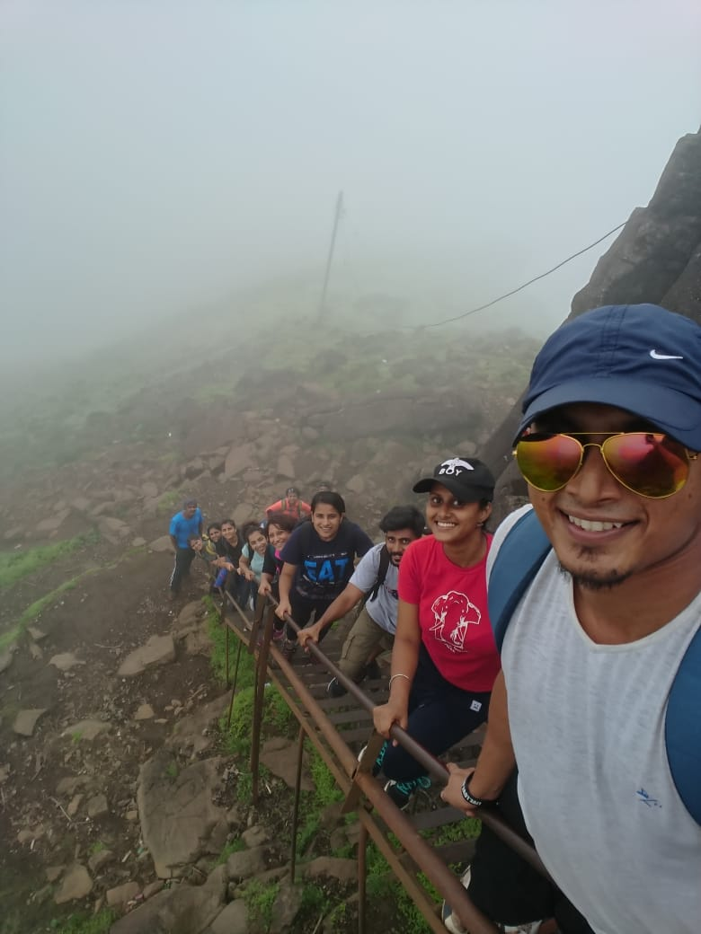 Kalsubai Peak Final Ladder