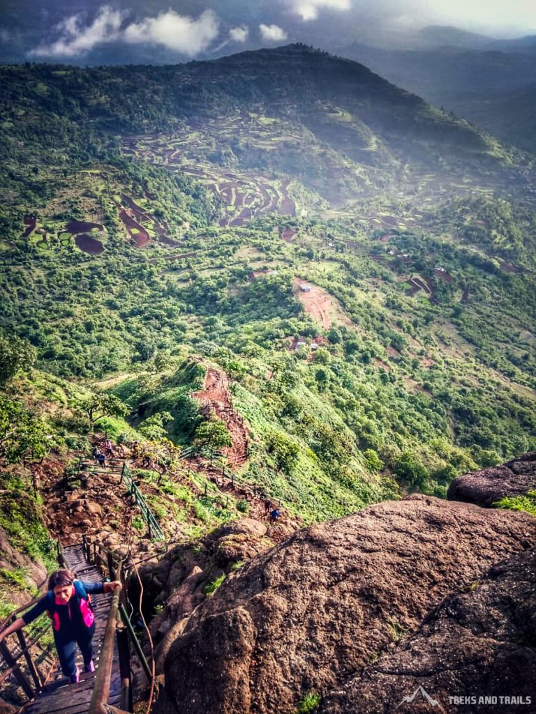 Kalsubai Peak Ladder Climb