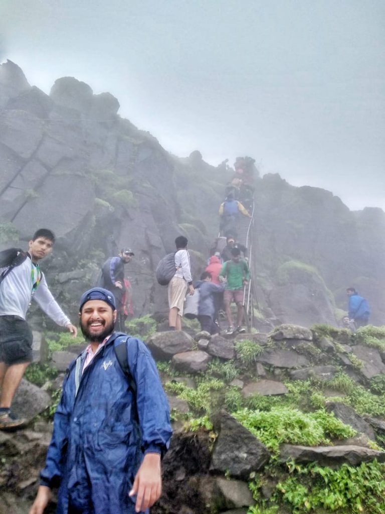 Kalsubai-Peak-Trek-Ladder-1