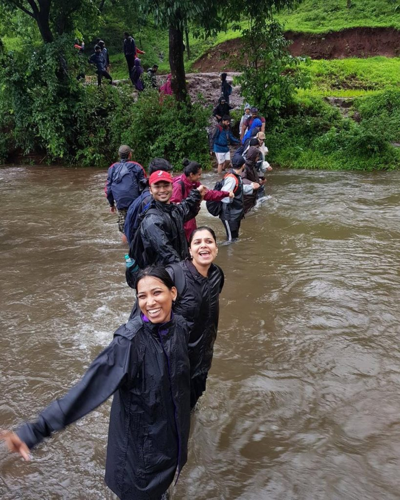 Kalsubai-Peak-Trek-River-Crossing