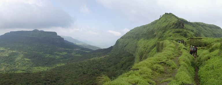 Lohagad Fort Trek Blog by Alpesh Adodra