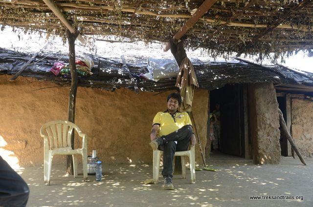 Raigad Fort Villager House
