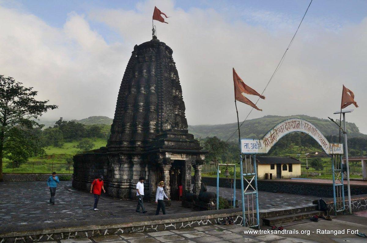 Ratangad-Amruteshwar-Temple
