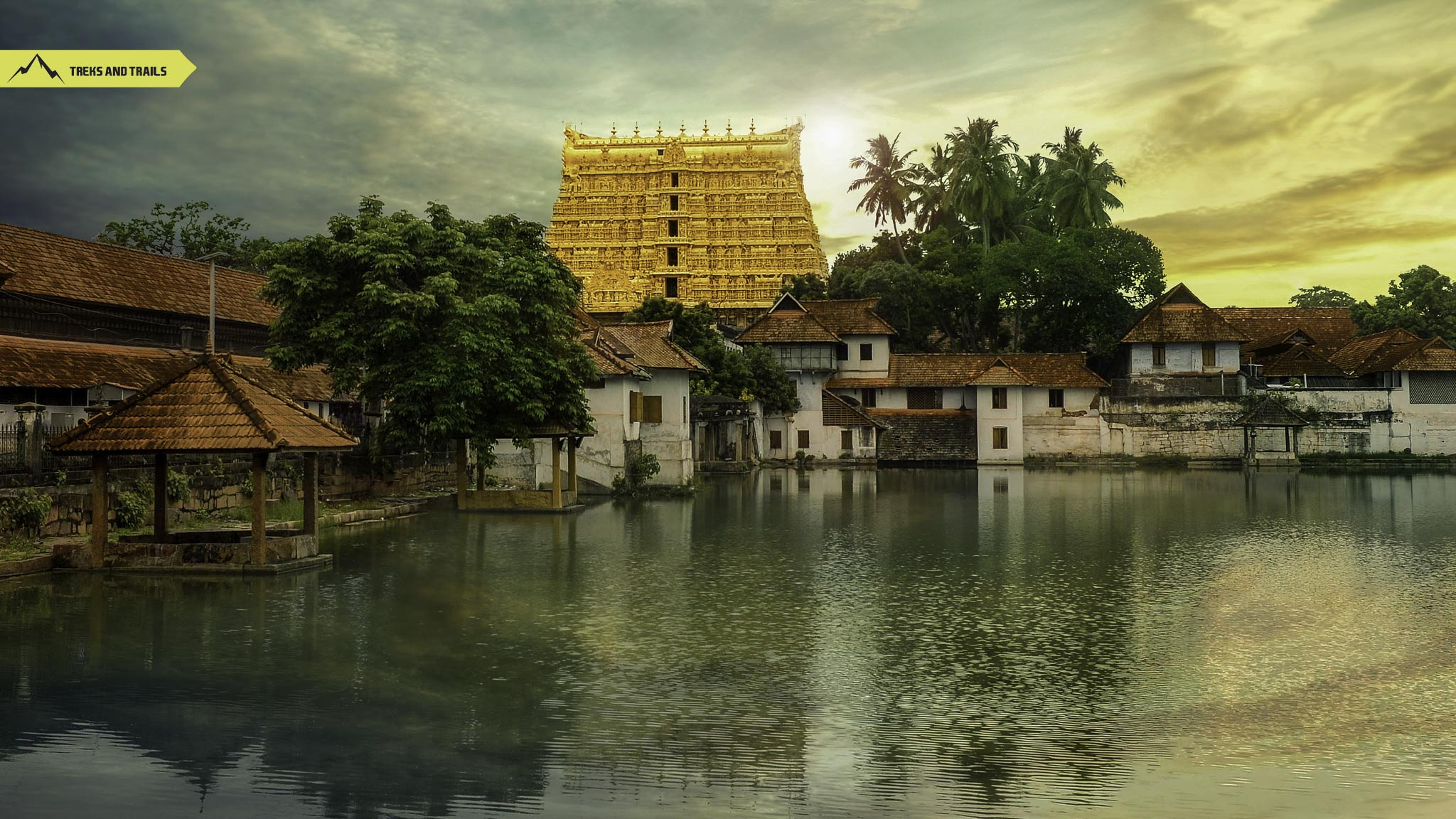 Sri Padmanabhaswamy temple in Trivandrum Kerala