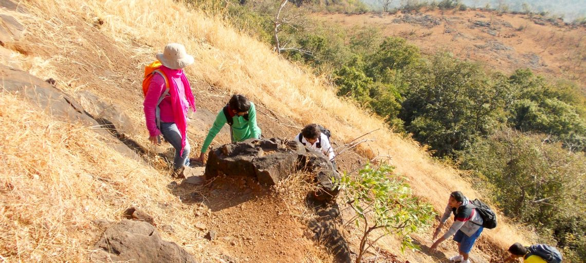 Tandulwadi Fort Trek near Mumbai