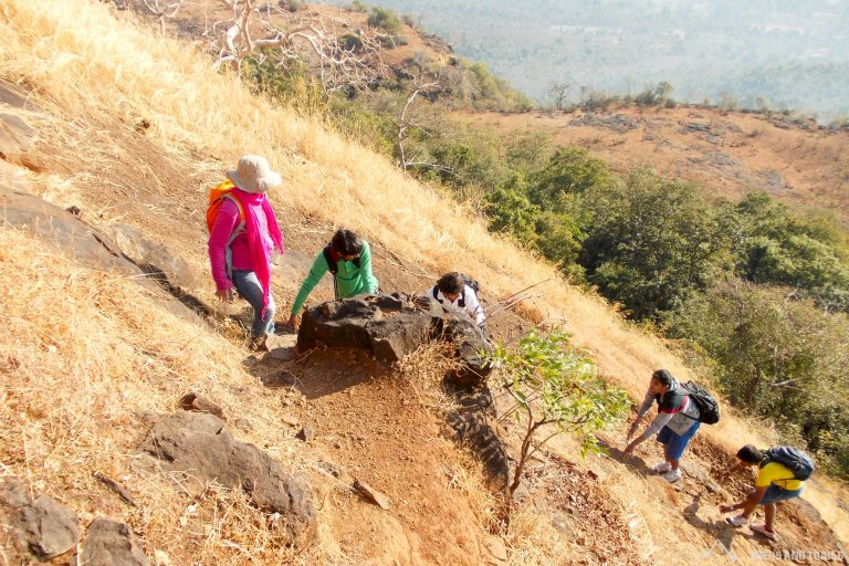 Tandulwadi Fort Trek near Mumbai