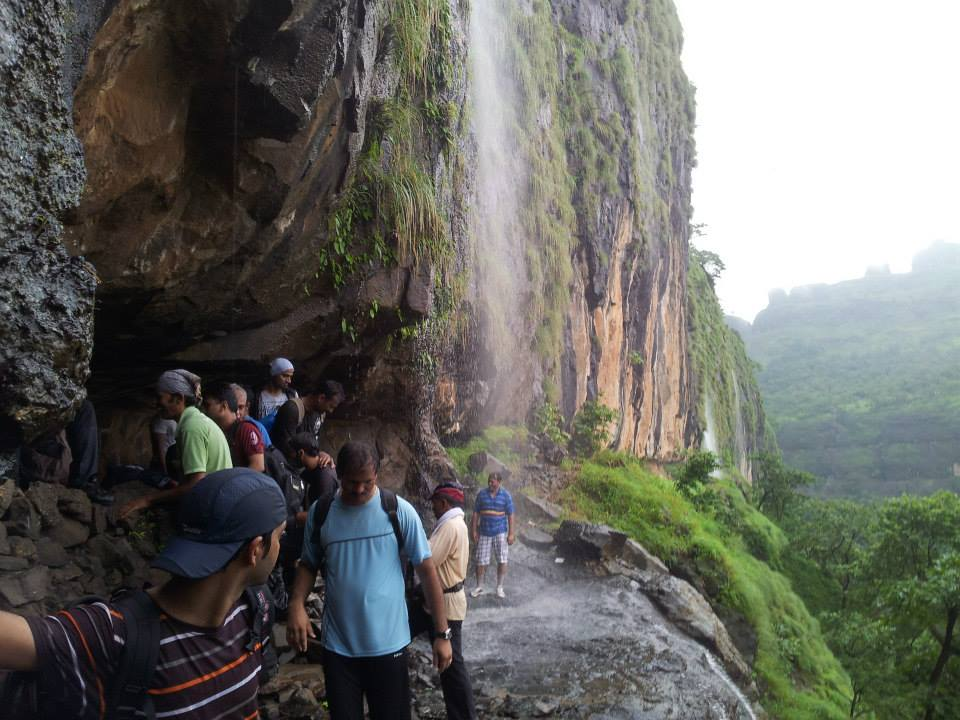 Waterfall-Bhimashankar-Ladder