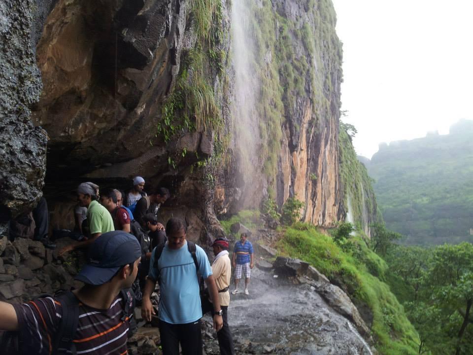 Waterfall-Bhimashankar-Ladder