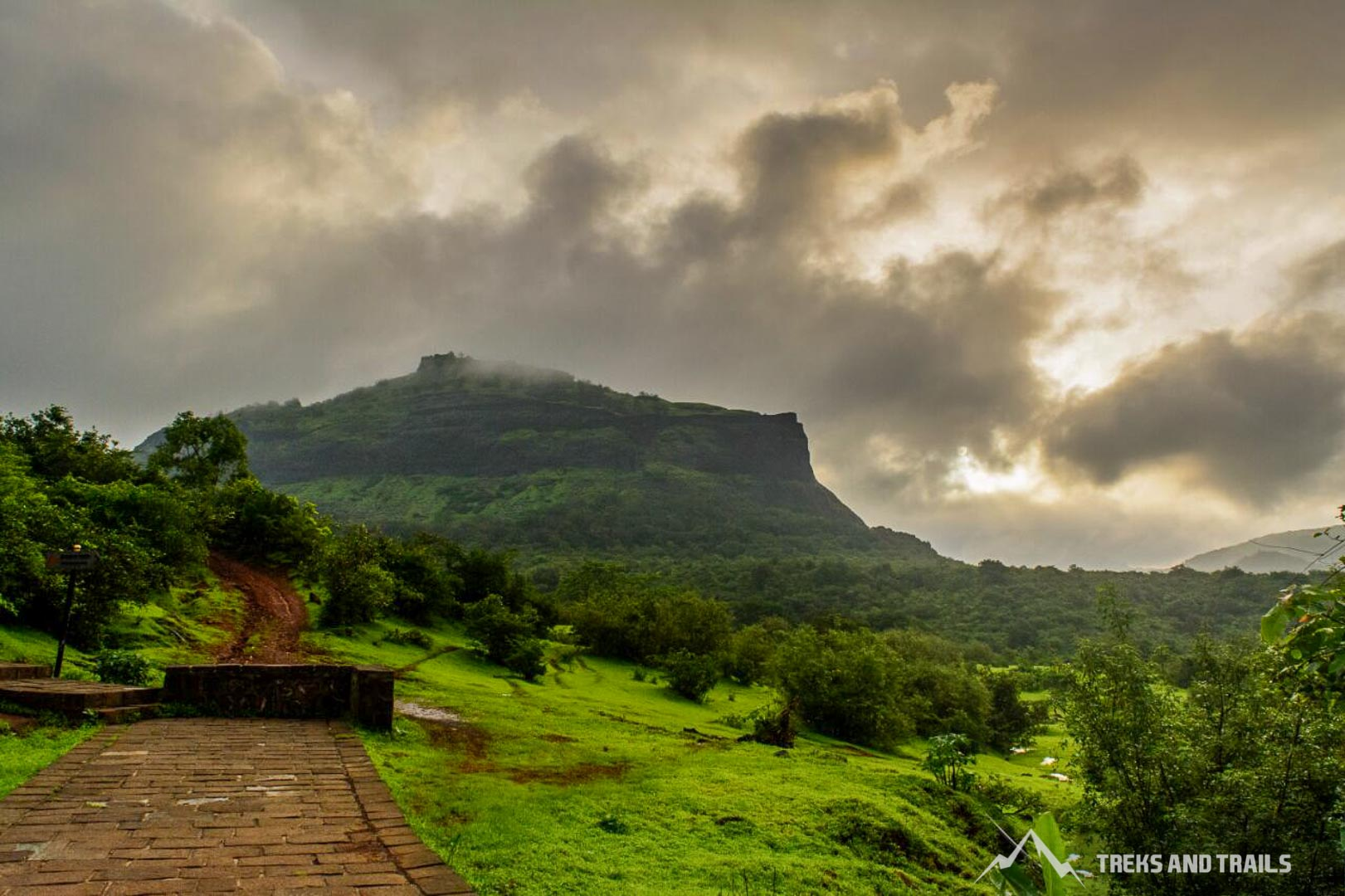 rajmachi monsoon trekking