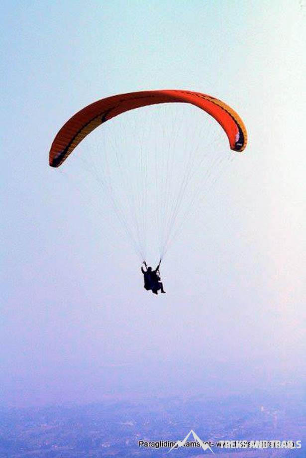 Paragliding-Kamshet