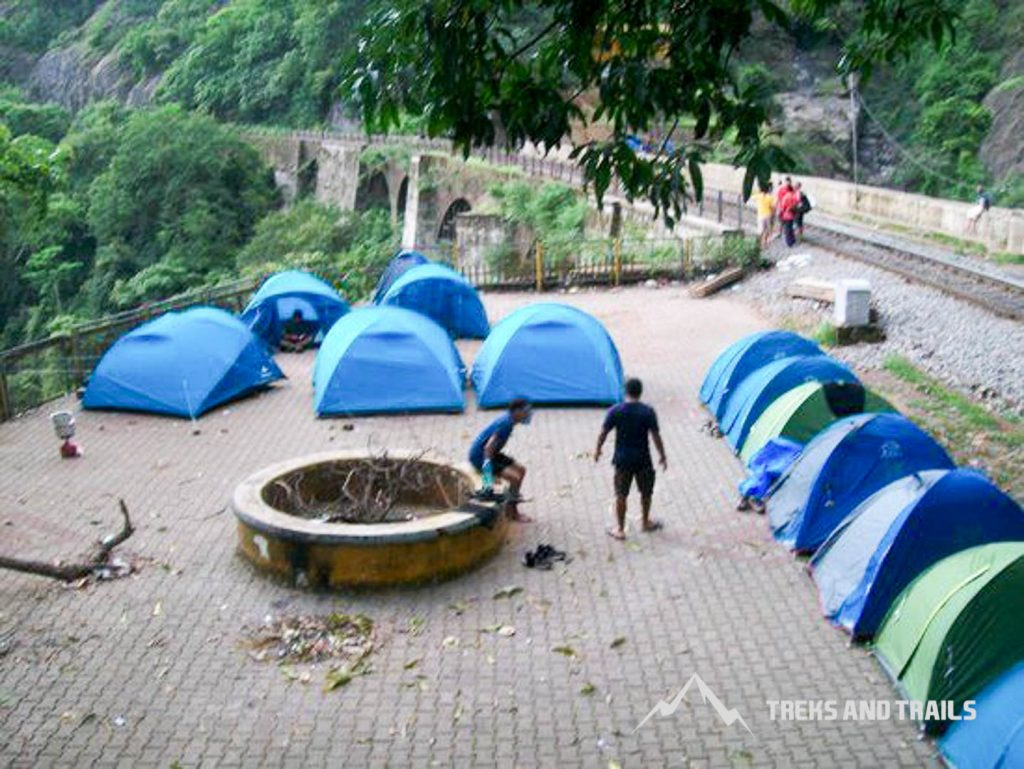 Dudhsagar-Waterfall-Trek-camping