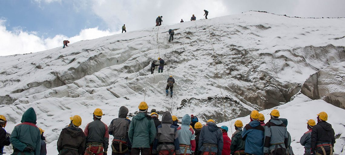 Basic Mountaineering Course in India