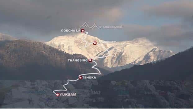 Goechala-la-trek
