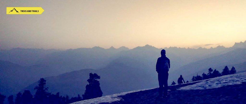 Kedarkantha-Sunset